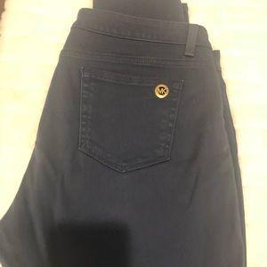 MK Navy cotton jeans